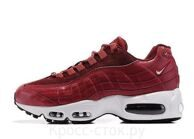 Nike Air Max 95 бордовые